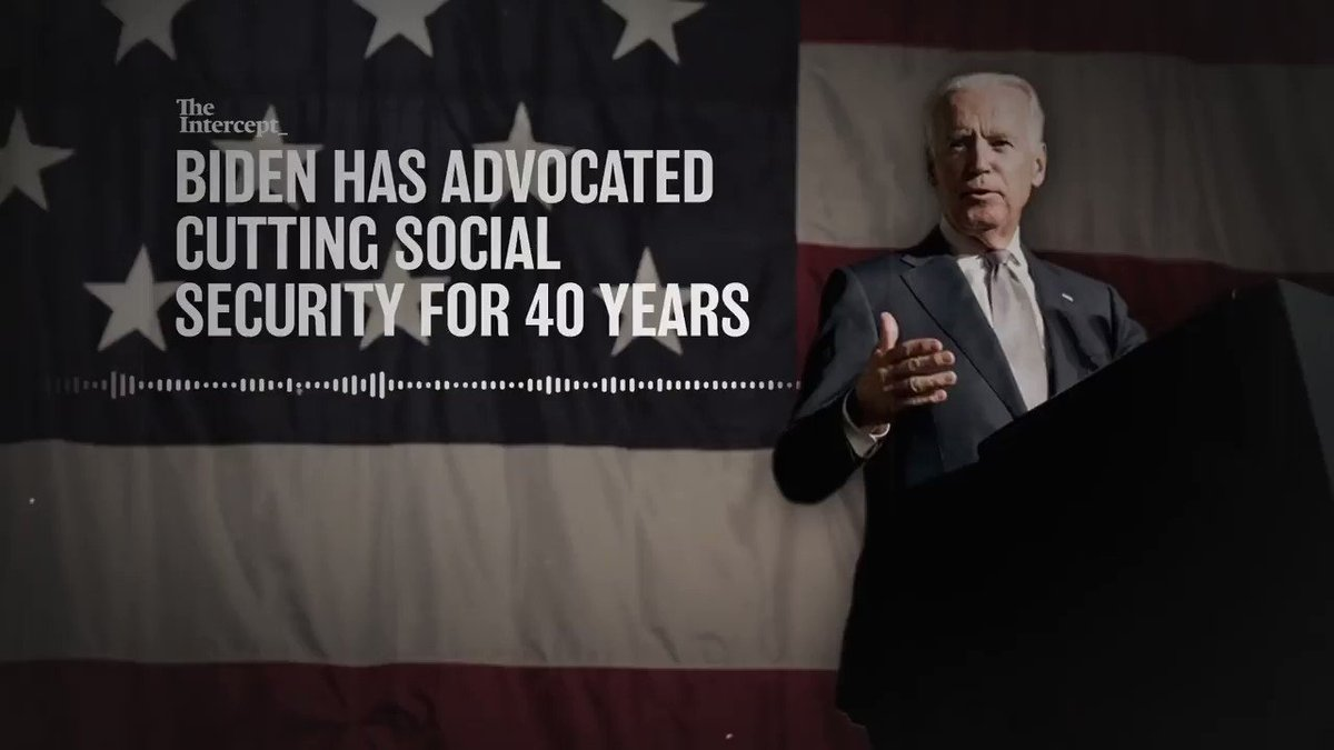 Democrats have hauled out the dusty old scare tactic playbook on Social Security.  @realDonaldTrump has said REPEATEDLY that he will always protect Social Security and Medicare.  FLASHBACK: Bernie Sanders ran this ad hitting Joe Biden on Social Security: