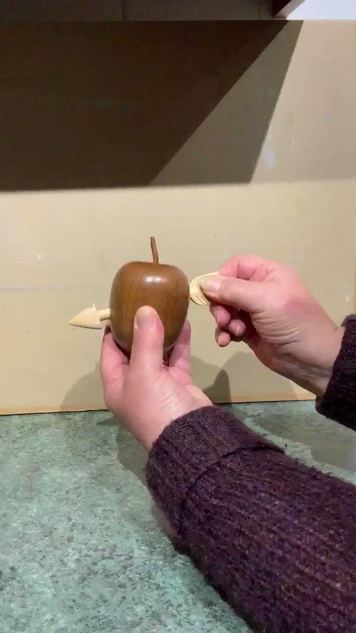 The William Tell apple teak apple lime arrow no glue no joints 2 https://t.co/DoUf4nuNJm
