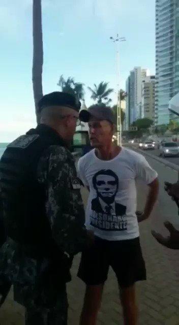 Qual o crime cometido para justificar essa prisão em Pernambuco?  Alguns governadores e prefeitos perderam a noção de civilidade.