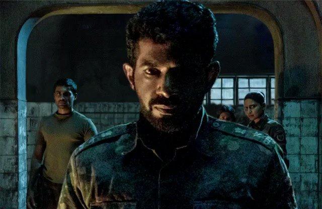 Here is the first look of my 2nd Netflix series (horror-thriller)#Betaal @NetflixIndia @blumhouse @skglobalent @RedChilliesEnt @iamsrk @gaurikhan @_GauravVerma directed by #PatrickGraham @iamnm | @AahanaKumra @Jitendrajoshi27  @suchitrapillai #Jatin @sidmenon1