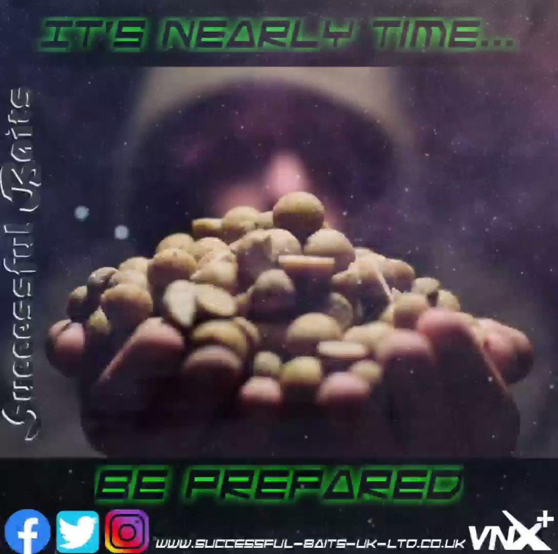 Tick tock tick tock, the time is co<b>Min</b>g..... #keepitsuccessful #preptime #carpfishing https:/
