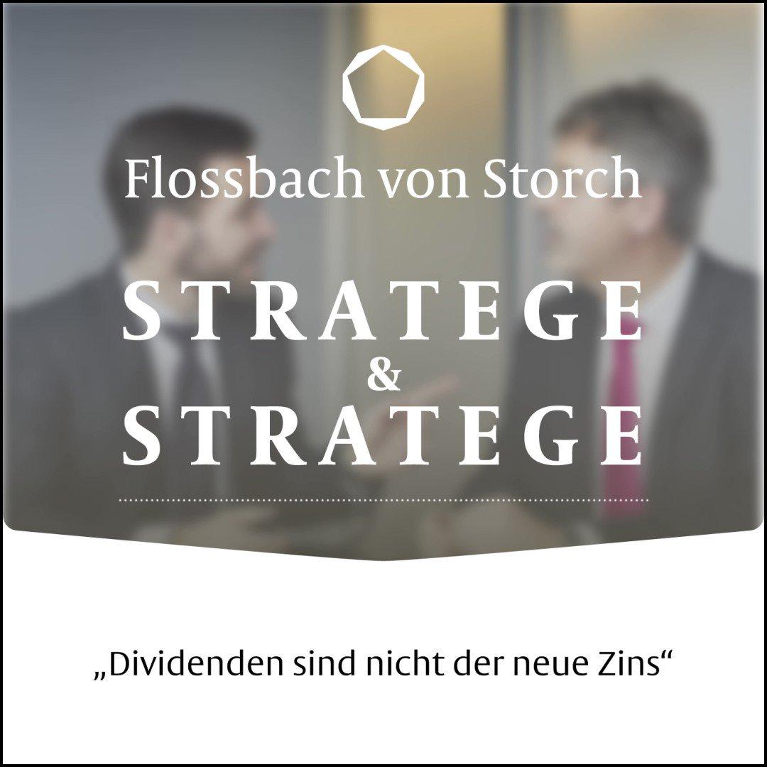 """#Dividenden sind nicht der neue Zins und Fondswährungen nicht identisch mit dem Währungsrisiko eines #Fonds. Warum das so ist, erklären Thomas Lehr und Philipp Vorndran in ihrem #Podcast """"Stratege & Stratege"""":"""