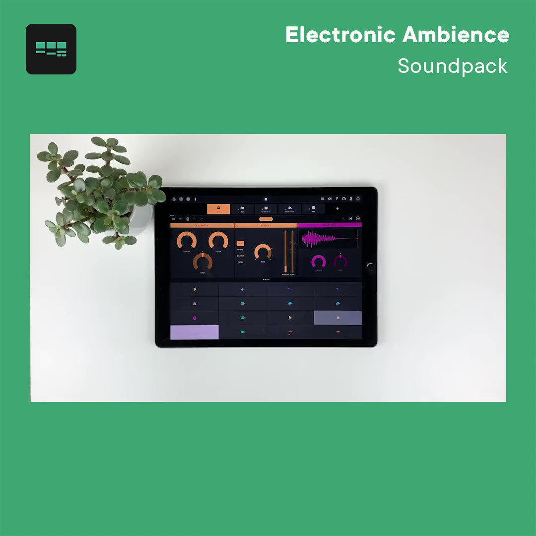 NEW GROOVEBOX SOUNDPACK // With a hypnotising collection of modern drums - New pack Electronic Ambience offers an inspiring set of sparse beats with massive textures. Head over to our Instagram for a chance to win a FREE code for Electronic Ambience!  IG: @weareampify https://t.co/KmEQ3WrT8y