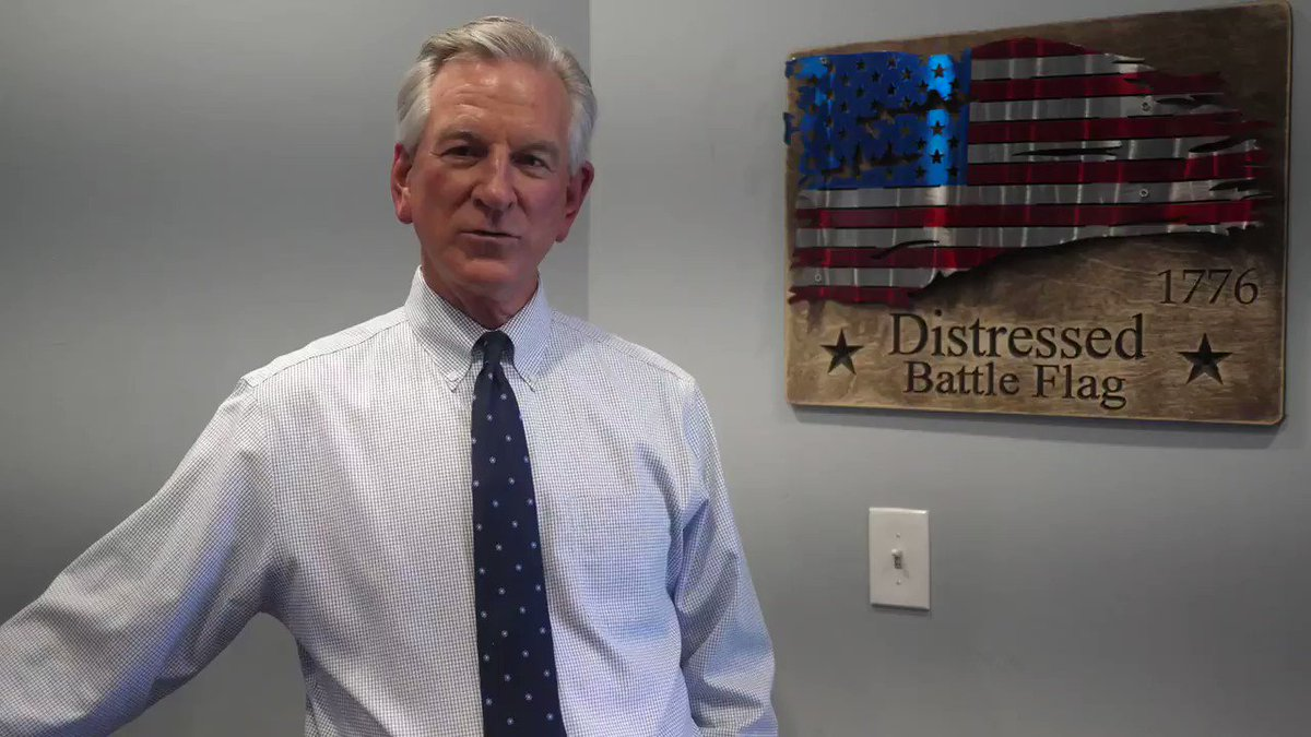 US Senator candidate @TTuberville spoke with me about Coach Pat Dye's diagnosis and said he needs prayers.