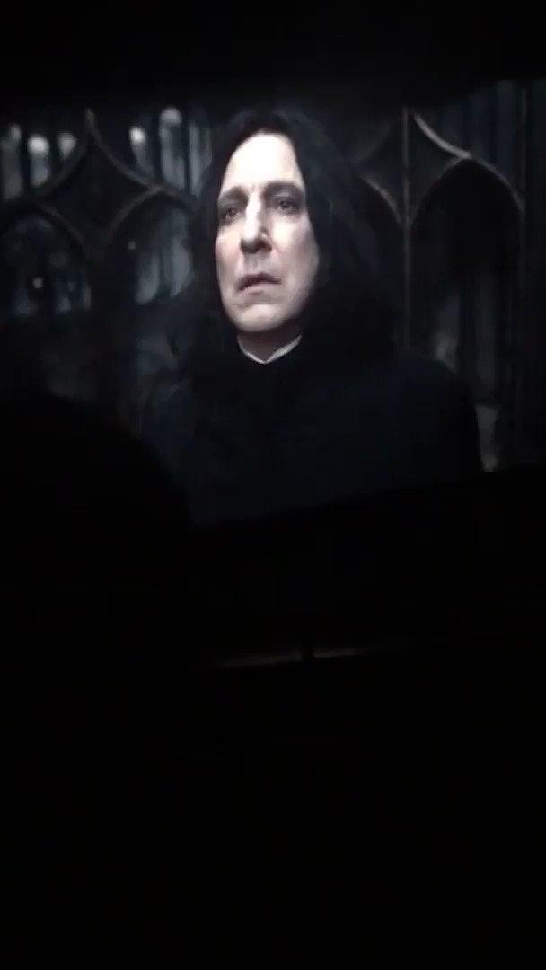 A reação dos fãs no cinema depois do Always do Snape.