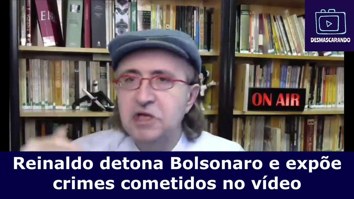 PARTE 1 BOMBA!!! Reinaldo detona vídeo de reunião de bozonaro!  Assista na íntegra, inscreva-se   #Resistencia779Dias #BolsonaroAcabou Siga nosso Instagram @DilmaResiste