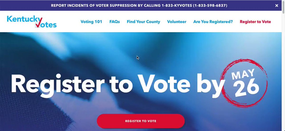 This year, there are a lot of changes to voting in Kentucky. My team put together a website to help answer your questions on how to register to vote, contact your county clerk, and request and mail in a ballot, which we will continue to update. Check out