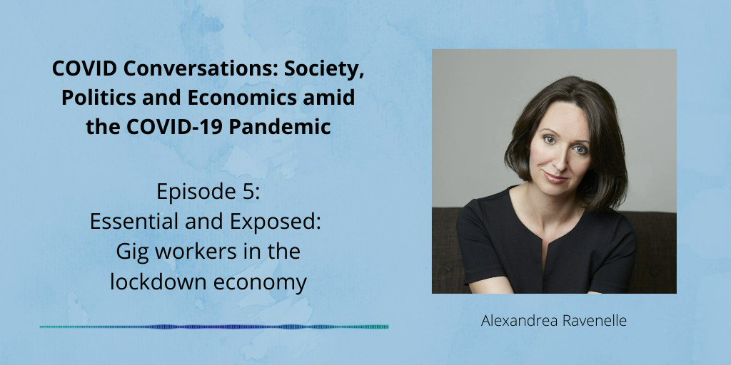 Alexandrea Ravenelle joined the podcast last week to discuss the strugglers, strivers and success stories in the gig economy, the risks these workers are in currently and what the future of work may look like. Listen: http://t.co/jl8lJZ26NO @UNCSociology @mttandrews @jonweiler h…