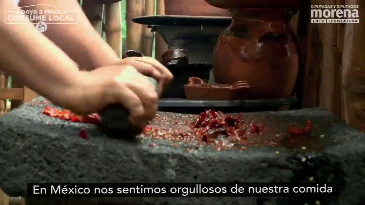 #HagamosComunidad apoya a México  #ConsumeLocal 🇲🇽❤