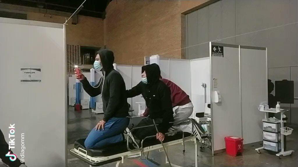 La Secretaria de Salud de Bogotá informó que la Subred Centro Oriente les canceló los contratos a 8 trabajadores de la salud por hacer uso indebido de los recursos públicos en el Centro Hospitalario Transitorio de Corferias. Aquí, una de las razones.