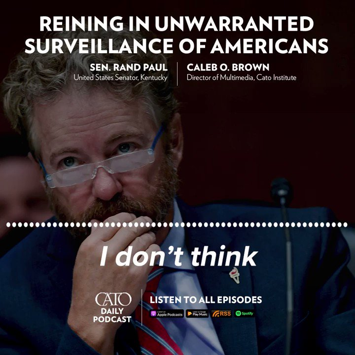 The Foreign Intelligence Surveillance Court is under scrutiny for its failures to properly check overzealous federal authorities.  @RandPaul says the court is not constitutional, but he's still offering reforms:   Join the conversation with #CatoTechnology