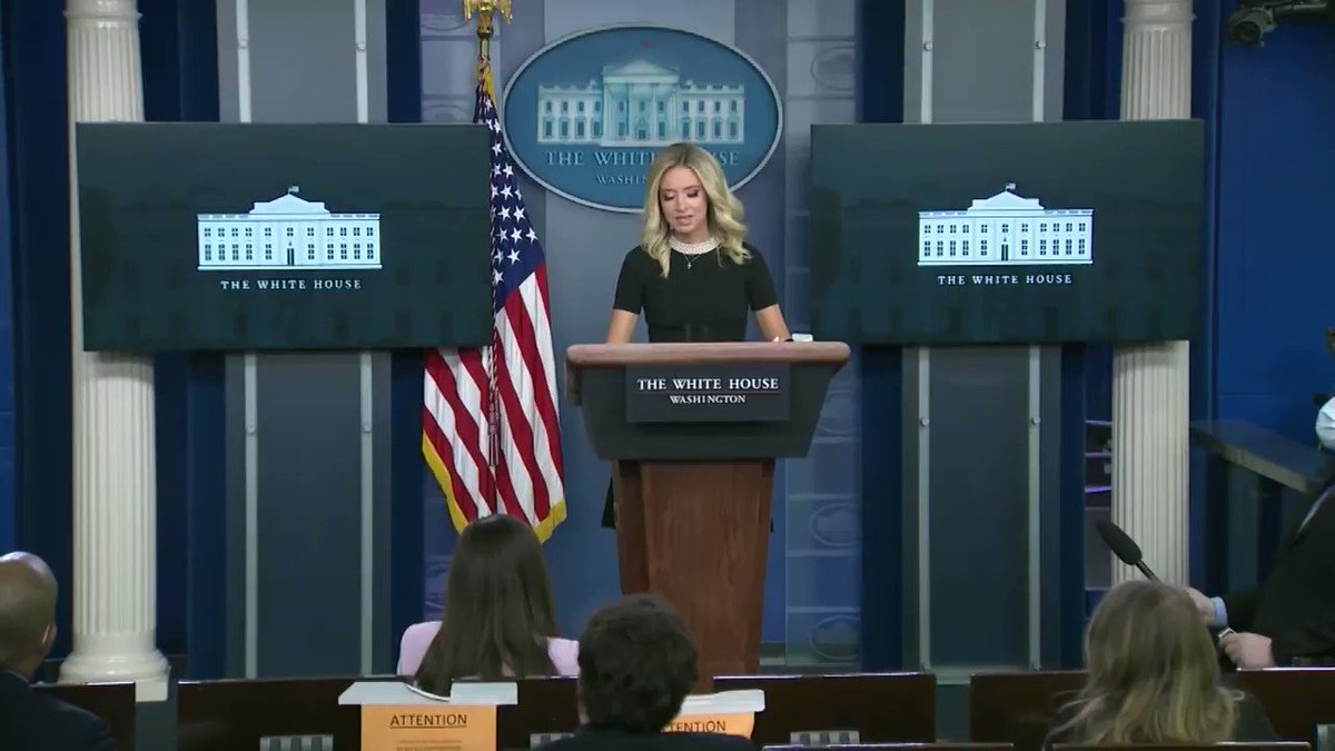 Kayleigh McEnany on @700club ! 'I Believe God Put Me in This Place for a Purpose': New @PressSec on Faith, Love of Country & Overcoming Adversity. Watch a portion of her personal profile story below. The full story airs on @FreeformTV at 10am. @realDonaldTrump @kayleighmcenany