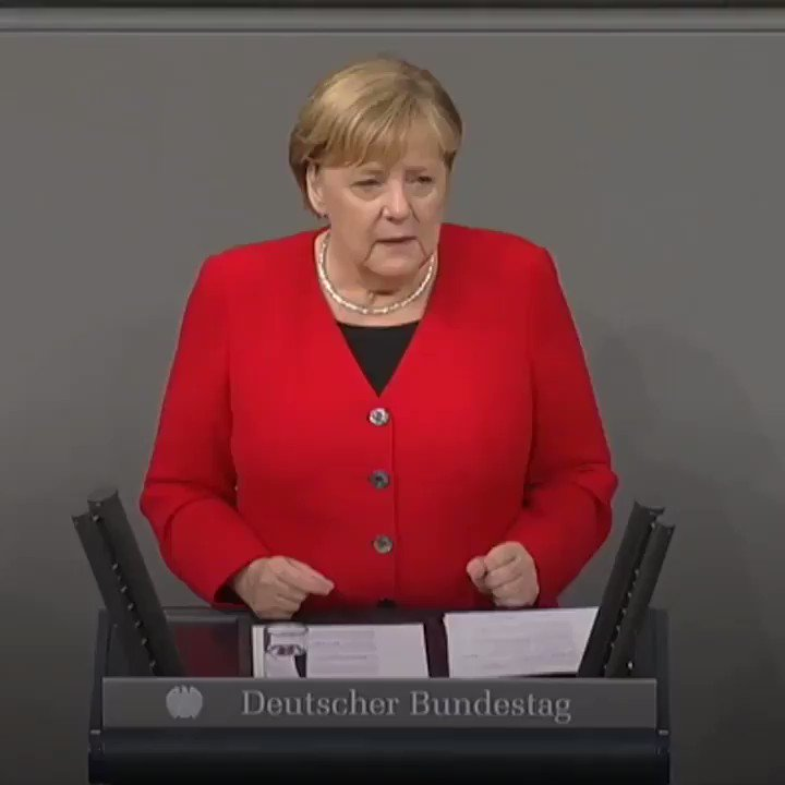 Angela Merkel. 📹 @dw_europe
