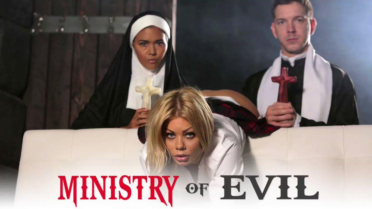 Ministry Of Evil 😈starring @xxxRiley   watch more 👉 📽️@danavespoli 🍆@MarkusDupree