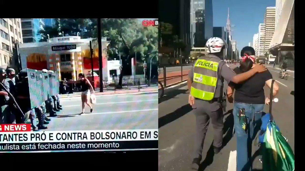 """@MarceloAdnet @anarcomiguxos """"a polícia não tem partido"""""""