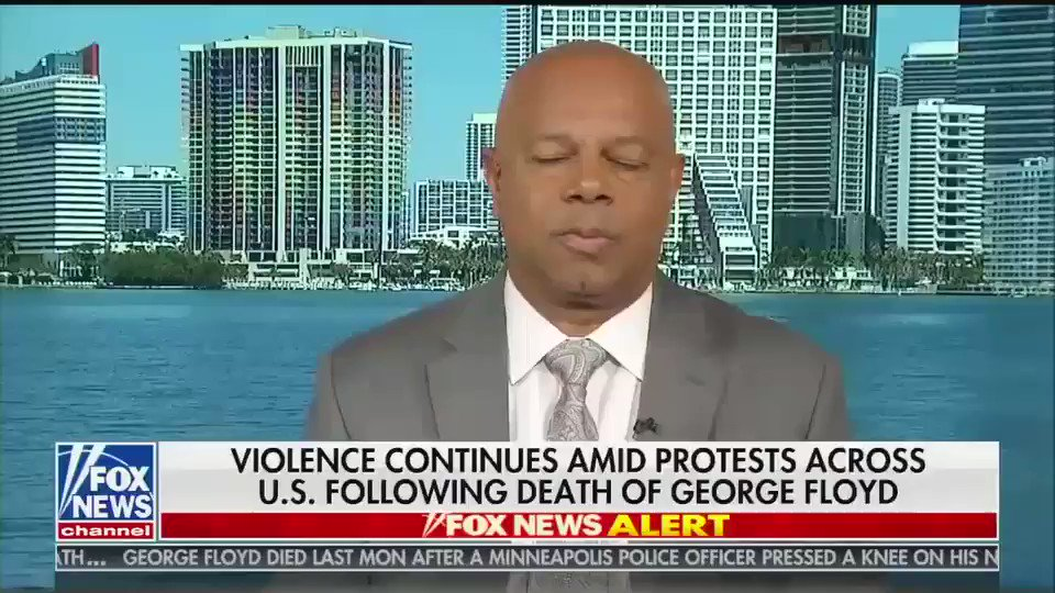 """Fox contributor David Webb: Racism isn't the problem, it's people who talk about racism  We got where we are today because of """"members of the media, rappers, influencers out there that have pushed this narrative, in this case, of always racism"""""""