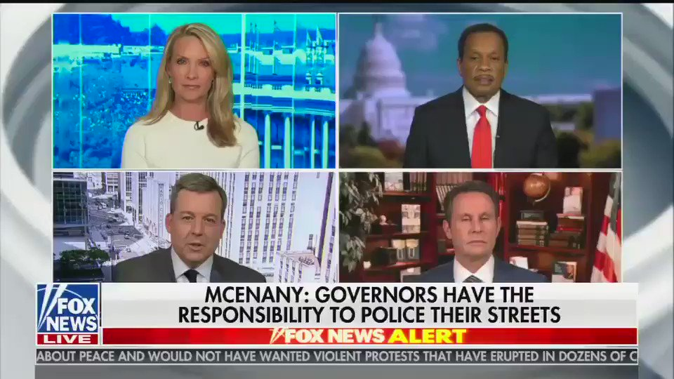 """Ed Henry on Trump's unhinged call with governors: """"People are suggesting somehow [Trump's] inciting violence, but it sounds like to me he's trying to restore law and order."""""""