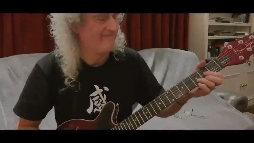 El Dr Brian May guitarrista de Queen,  Doctor en Astrofísica, colaborador de la NASA y profesor, lanzó una invitación para quien deseara realizar conjuntamente con él, un cover de la canción de Freddy Mercury, Love of my life. Un cantante venezolano de nombre Joel Brito, aceptó https://t.co/sFkLL3rxed