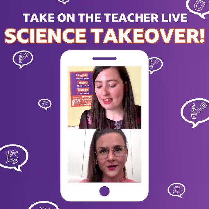 📣 Year 10s 📣 The teachers are back TOMORROW for our Instagram LIVE and this week it's a science takeover!  🔭🔬🕳💊💉🧬🦠🧫🧪🌡  1️⃣ Prepare 👉   2️⃣ Join us at 10.30am 👉   3️⃣ Take on the teacher in THREE science quizzes!