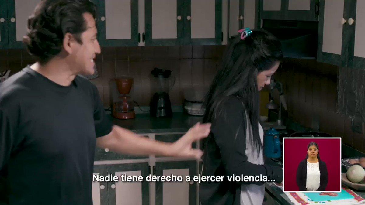La violencia no es normal, nada la justifica y nadie tiene derecho a ejercerla.  Si sufres algún tipo de violencia o conoces a alguien que la sufra, denuncia, #NoEstásSola. Te escuchamos, te creemos y te apoyamos.   Queremos un México libre de violencias.