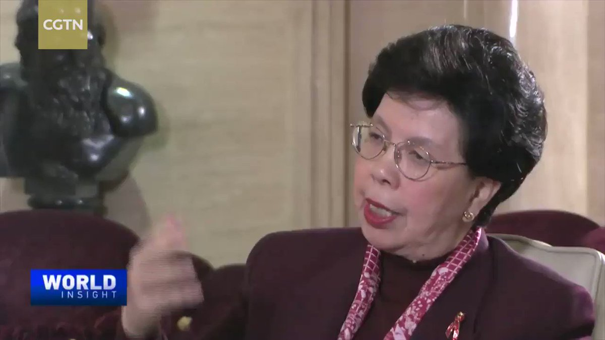 """4/5: Three years later: """"Chinese Candidate Margaret Chan is elected as Director-General of the WHO. It is the first time a Chinese candidate is elected as chief of a UN agency. China attached great importance and extended full support to Chan's candidacy."""""""