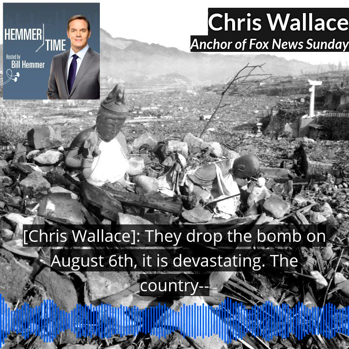 "NEW PODCAST: Chris Wallace discusses his fascinating new book ""Countdown 1945.""  Click the link here --- >>"