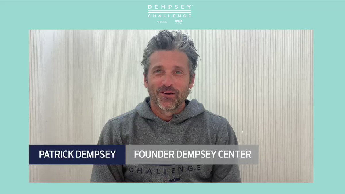 Dempsey Challenge p/by @amgen will be held virtually as we #reimaginethechallenge for 2020.  On Sep 26 + 27, you will have the opportunity to join @patrickdempsey and participate wherever you are. We will host events on @Strava and @gozwift.   Register at