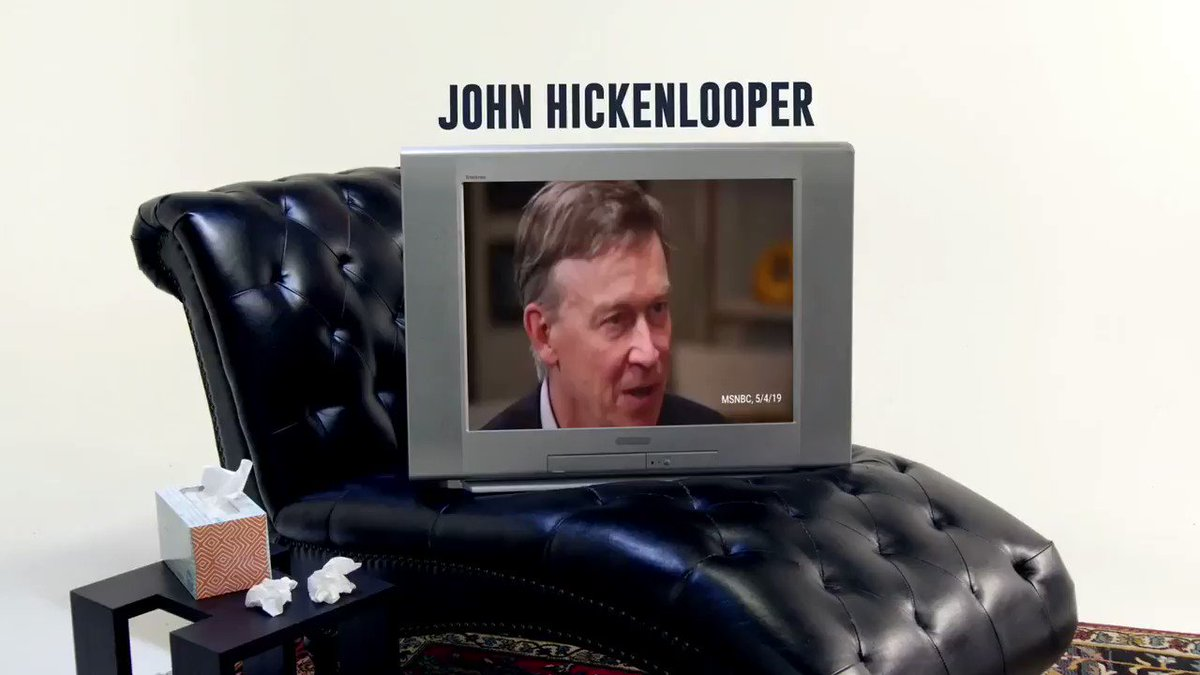 .@Hickenlooper has made it painstakingly obvious that he would be a terrible senator, and all the proof Coloradans need are his own words. I know that being a senator is about working for Colorado and delivering results, and that's exactly what I will continue to do. WATCH 👇