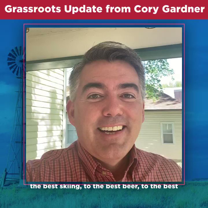This week, we're starting Supporter Spotlight Saturday to highlight the people who make Colorado great and why they're supporting #TeamGardner. Keep an eye out for our videos and head to  to join our team!