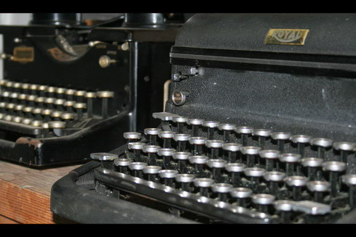 """Typewriters"" is a video I created while taking a digital storytelling workshop. It's about how our father encouraged me to write. In honor of him on Father's Day."