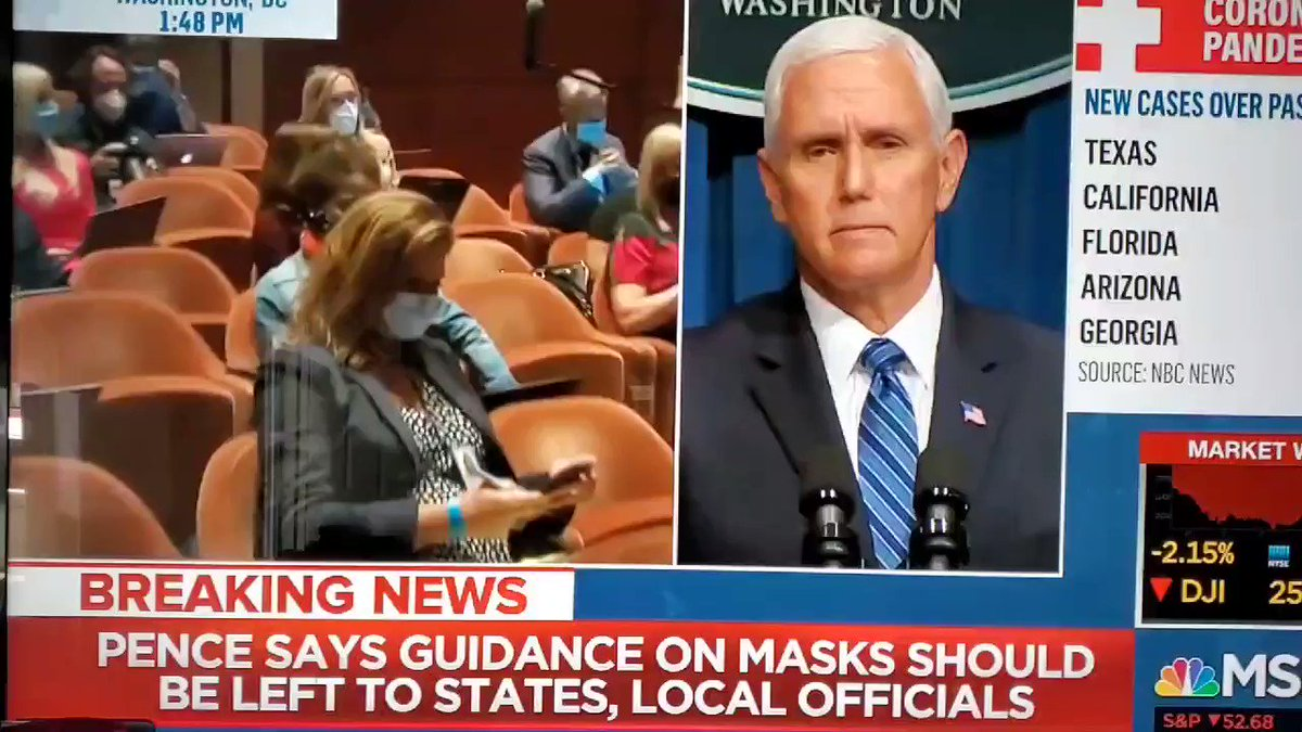 You can see the actual moment when VP Pence's soul would've left his body if he still had a soul.