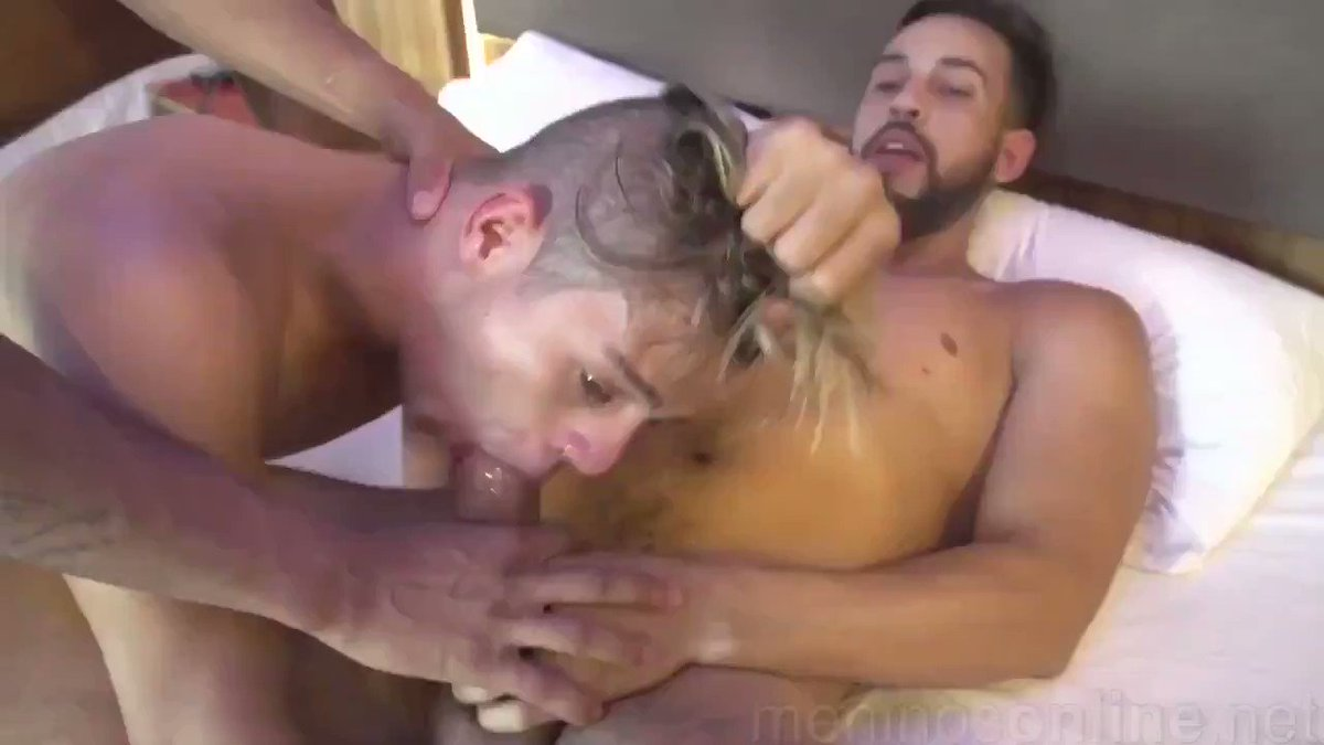 A #cock up the #ass, and one down the #throat.  The #sub has to take all of that and suffer the consequences for his #Master not winning the #fight in the #ring.  The aggression from suffering the loss means someone will PAY!  #slap #faceSlap #gay #gaysex #gayporn #gayxxx