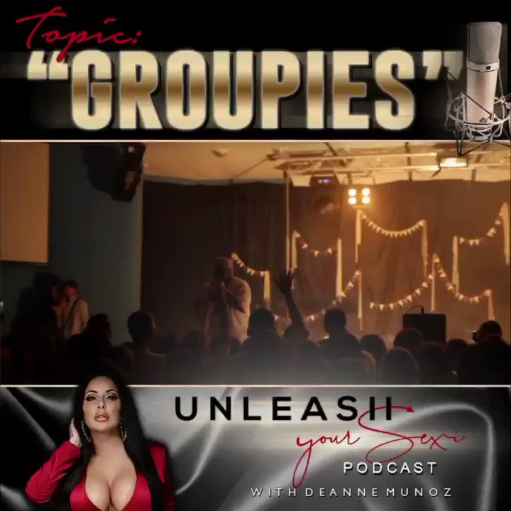 """🎙NEW PODCAST 🎙""""GROUPIES """" DONT MISS IT! Click the link —> ❤️"""