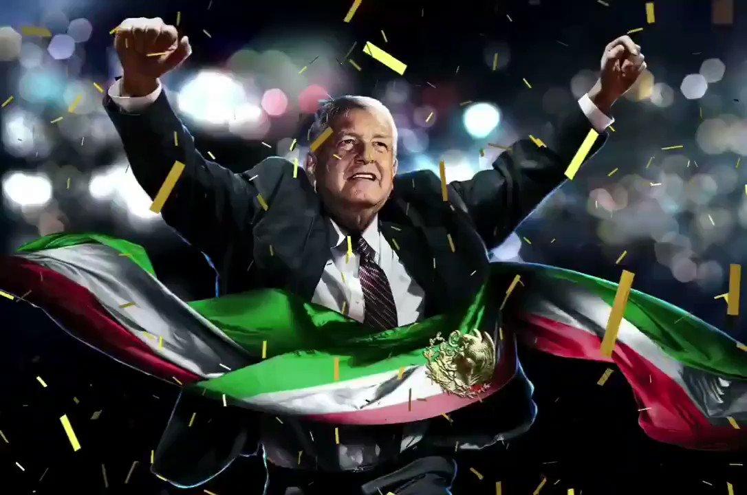 #EsUnHonorEstarConObrador Que levante la mano quienes están con @lopezobrador_  🖐