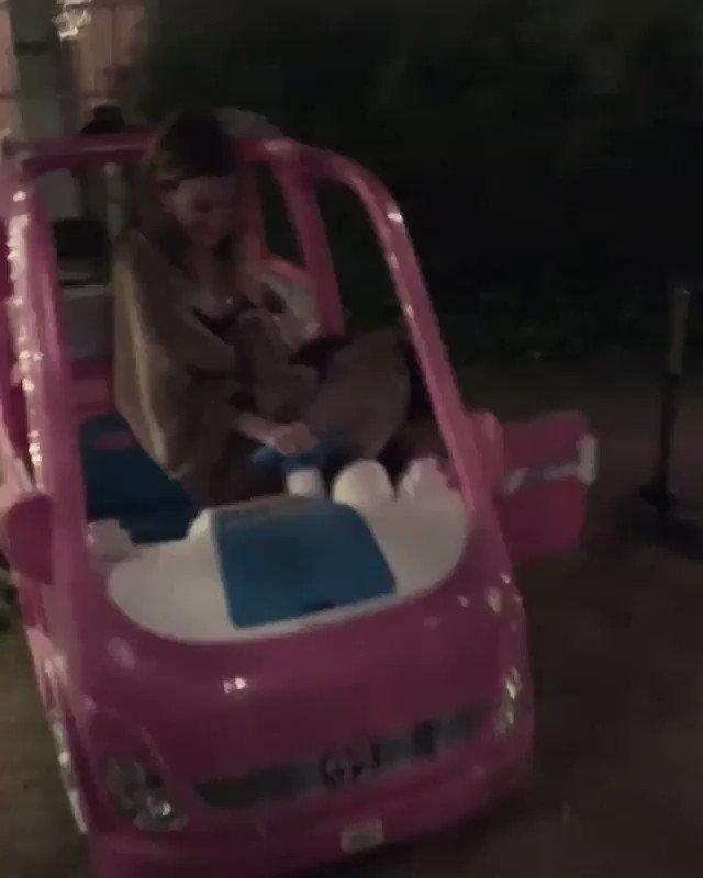 ive been drunk before but ive never been ellen pompeo in a barbie van drunk. 😂😜 @EllenPompeo