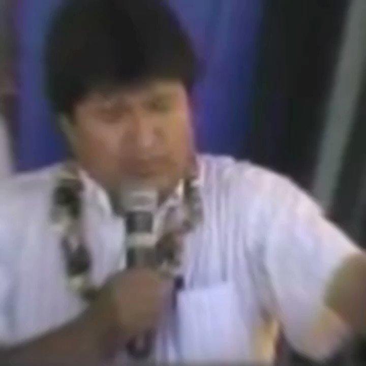 """La dictadura de Bolivia acusa al hermano .@evoespueblo de haber construido """"canchitas"""" aquí pueden ver una de las más de 1,200 canchitas, el hospital de tercer nivel de lujo construido para el pueblo y que no quiere ser utilizados por el régimen #30Junio"""