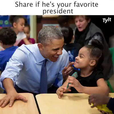 @realDonaldTrump I miss @BarackObama