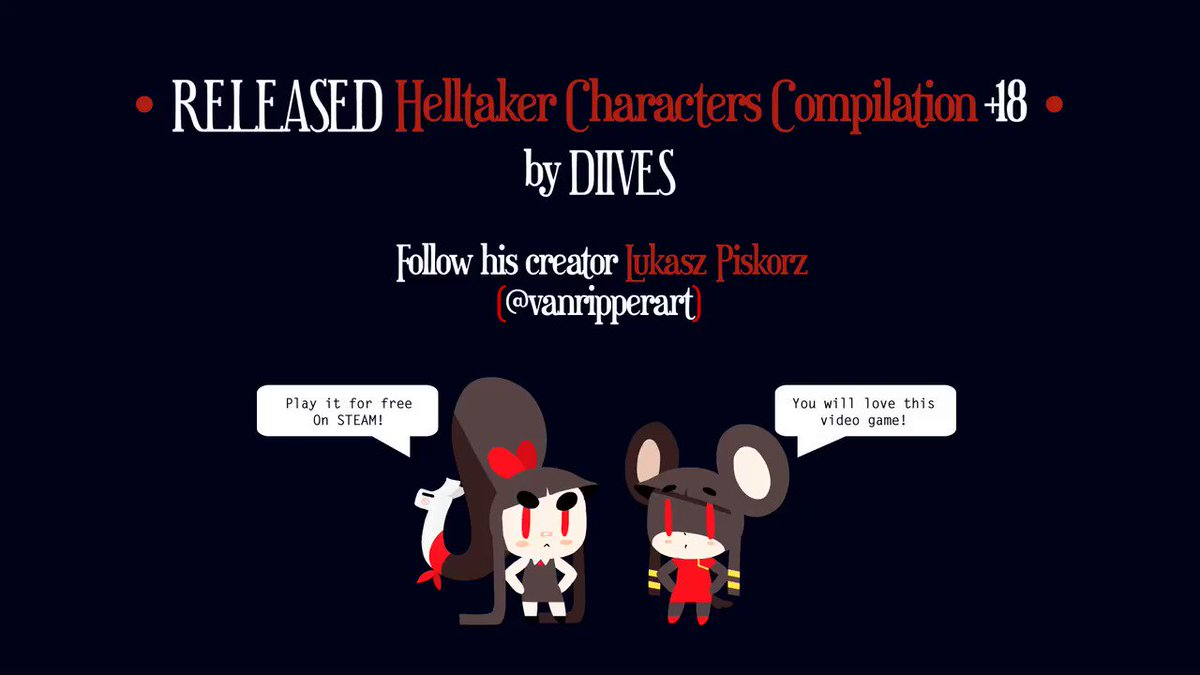[+18 Release TRIBUTE]  I'm releasing each alternative version soon! ___ Casting @_PixieWillow @MissMoonified @PeachyMizz @TemptyVA @SilkyMilkVoices @LewdZaxk @VolkorNSFW  #NSFWdiives #nsfw #Helltaker
