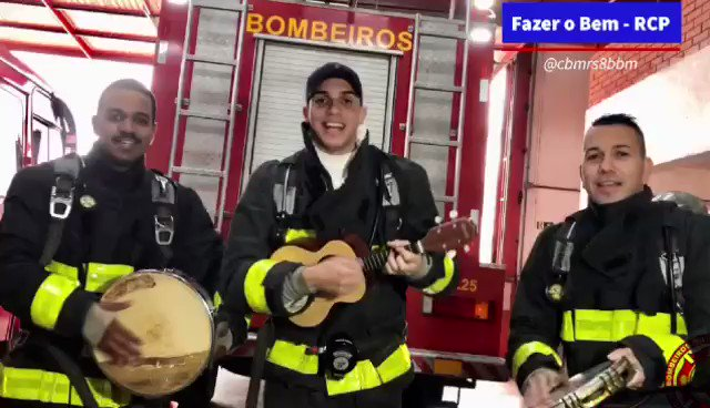 bombeiros de canoas mandaram muito bem