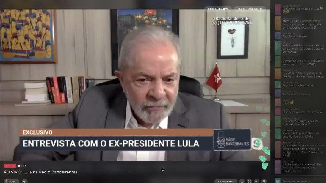 """""""Se tem um dono de uma empresa que praticou um roubo, vc puna o dona da empresa, mas não a empresa. Pq quando vc pune a empresa, vc está punindo os que trabalham na empresa... Os americanos nunca se conformaram com a descoberta do Pré-Sal... disse o Lula. #LavaJatoTraiuAPatria"""