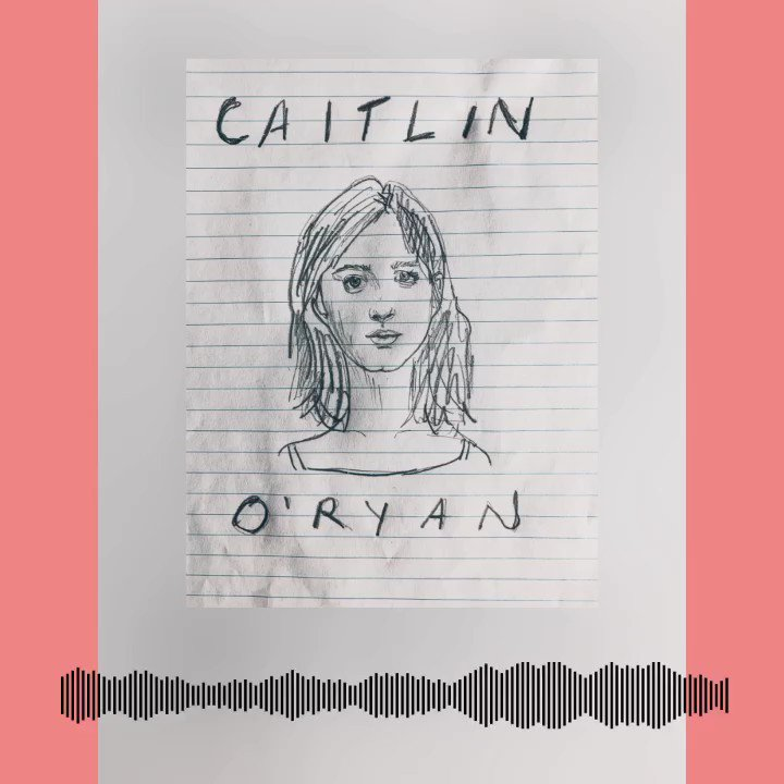 The very very wonderful @_CaitlinORyan joins us for a chin wag this Sunday for episode 3 of #OutcastsPodcast. Hurrah!