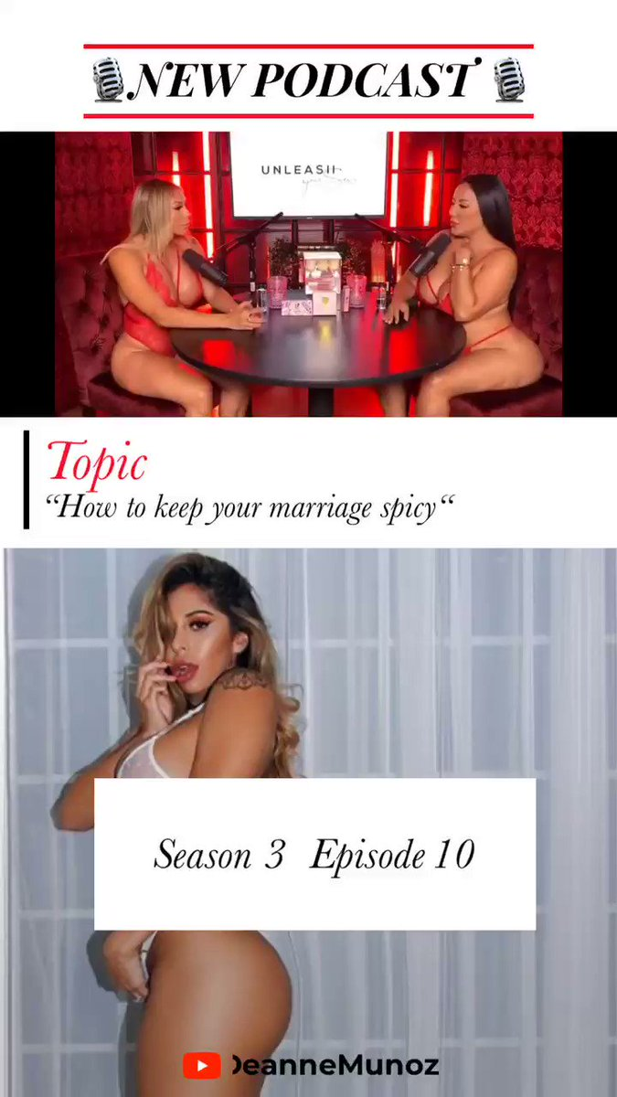 """🎙 NEW PODCAST🎙 """"how to keep things spicy in your marriage"""" with @theresaerika_ watch now ! Click the link —>"""