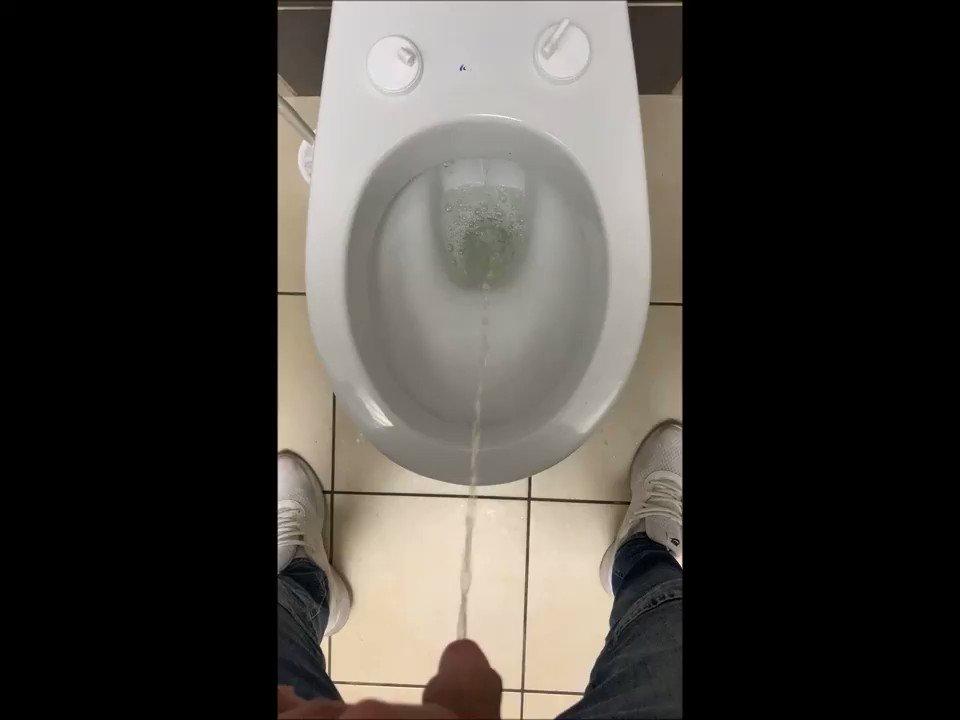 Pissing in the restaurant toilet💦😋  #gay #piss #gaypissing #pissplay #softdick #ws #watersport #gaypiss #pee #public #goldenshower #toilet #RT #retweet #follow #gayfollow