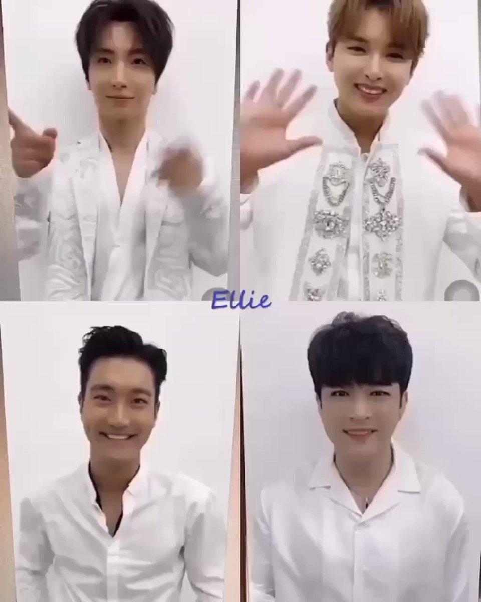 น่ารักมาก กี่ขวบกันแล้วเนี่ย 😆☺️💙   #Leeteuk #Yesung #Shindong #Eunhyuk #Donghae #Siwon #Ryeowook #Kyuhyun #SUPERJUNIOR #슈퍼주니어