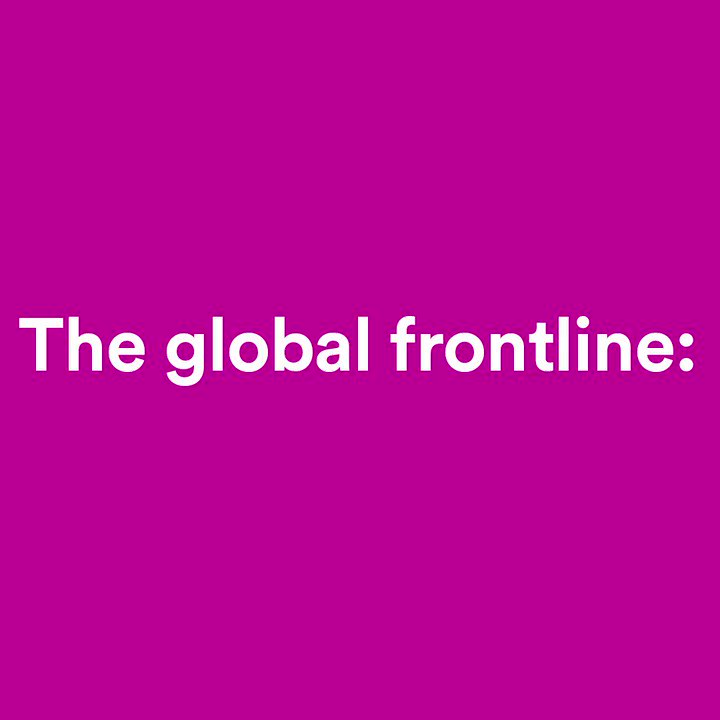 Innovators won't stop fighting this pandemic and helping prevent the next one. When we #BackTheFrontline, we can see the knowhow and expertise of health workers advance breakthroughs rooted in communities' needs.