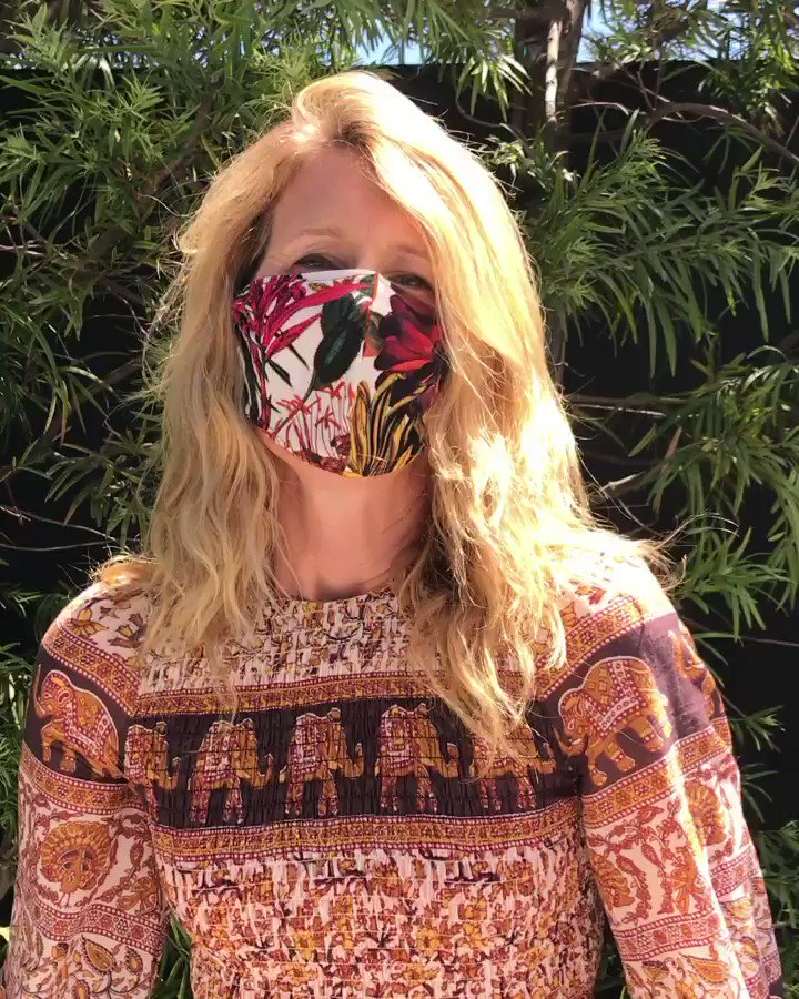 Happy Fourth! Let's #KindlyMask to keep each other safe! You're up @Jaymelemons @laurabrown99 #NaomiWatts ♥️😷♥️
