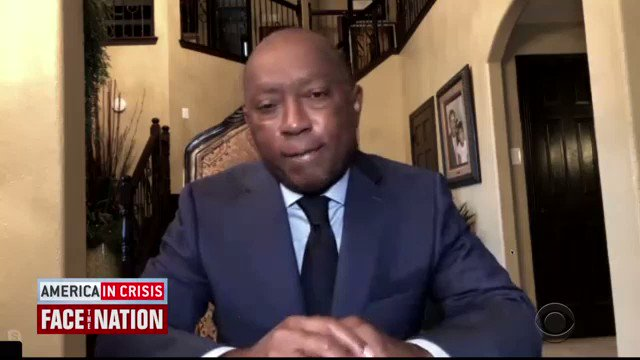 """#TESTING IN HOUSTON: As #Covid19 cases surge in @HoustonTX , Mayor @SylvesterTurner tells @margbrennan the city is ramping up, but notes """"the demand exceeds the capacity"""""""