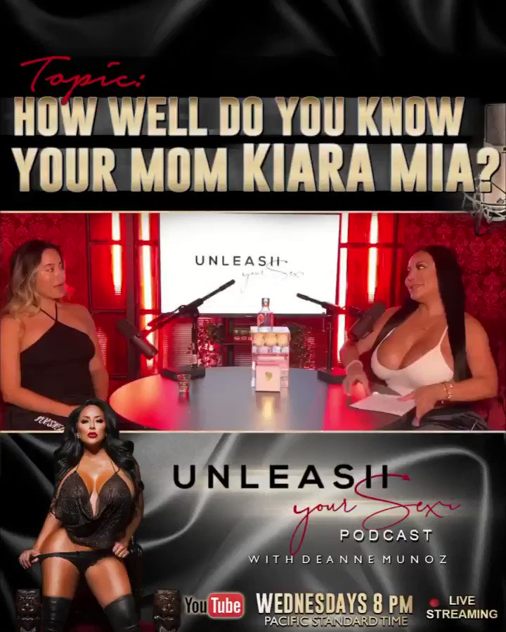 """🎙NEW PODCAST🎙 Topic """"HOW WELL DO YOU KNOW YOUR MOM KIARA MIA?"""" come watch now! CLICK THE LINK —>"""