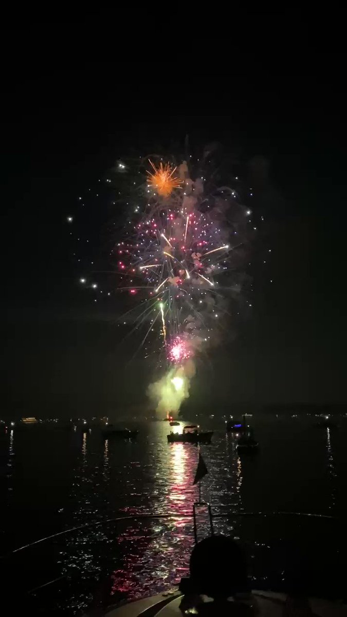 Here's to having many many more patriotic celebrations where we show our unabashed love for our country.  (Some great people got together to pay for this when fireworks were cancelled.)  #Minnetonka