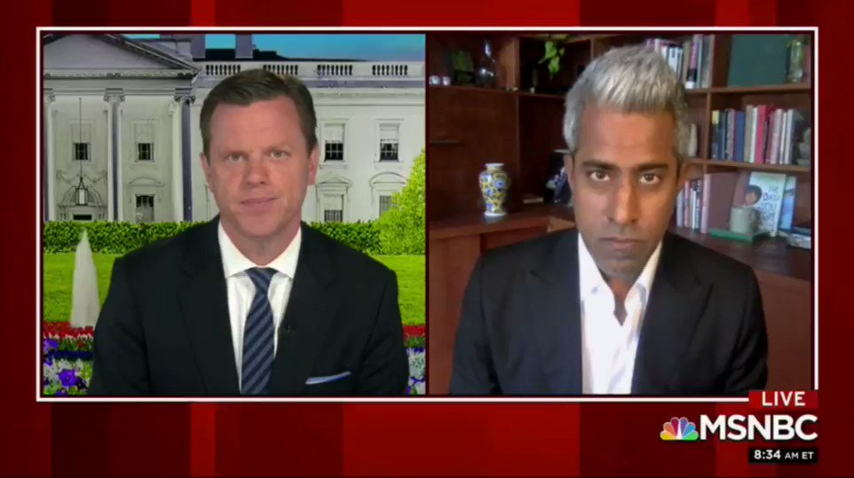 President Trump is running for reelection as a fascist who, thankfully, didn't do the reading.  [Sharing highlights from a good conversation on @Morning_Joe about race, oligarchy, Democratic boldness, and this moment of darkness and hope.]